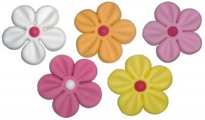 floricele asortate pasta zahar