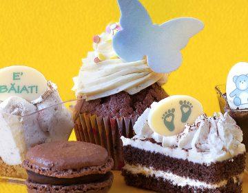 plachete ciocolata alba botez constanta candy bar decorare baiat
